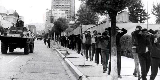 Golpe de estado de Luis García Meza en Bolivia, 17 de Julio de 1980