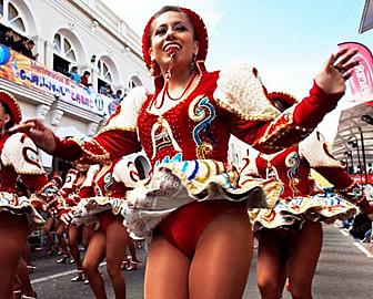 Carnaval de oruro entre los cinco mejores del mundo for Mejores carnavales del mundo