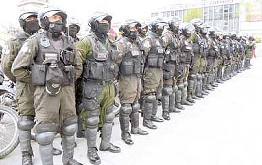 Resultado de imagen para policias patrulla bolivia