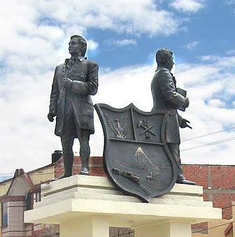 Monumento en Oruro