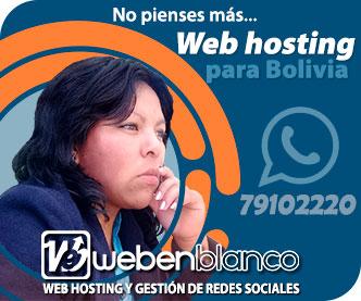 Hosting Bolivia Webenblanco