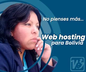 Web hosting Bolivia