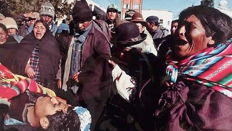 Resultado de imagen para masacre de octubre