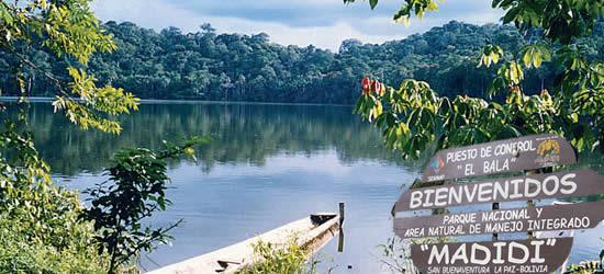 El Parque Nacional Madidi considerado por la National Geographic como uno de los lugares imprescidibles a visitar en el mundo