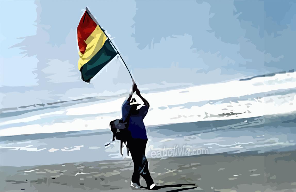 Dia Del Mar En Bolivia 23 Marzo