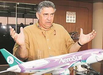 Resultado de imagen de Aerosur dueño